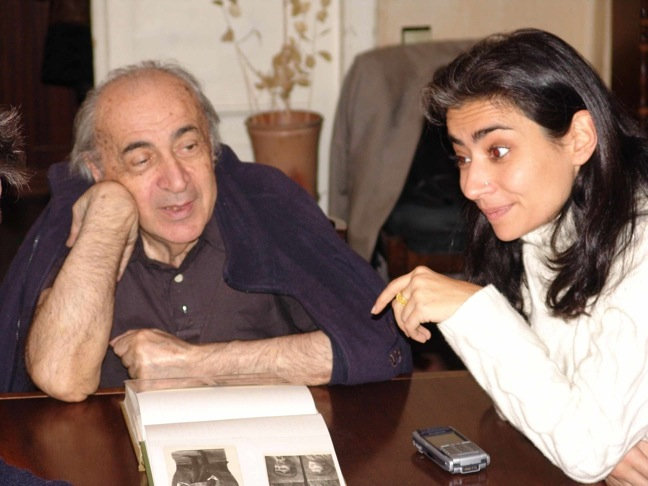 Naum Starkmann and Monica Pilati in Moscow, December 2005
