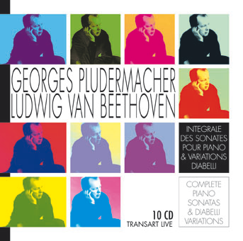 Georges Pludermacher plays complet cycle Beethoven Sonatas and Diabelli Variations