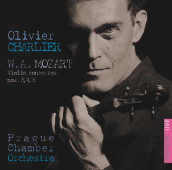 Olivier Charlier plays Mozart Concerto nos 3,4,5