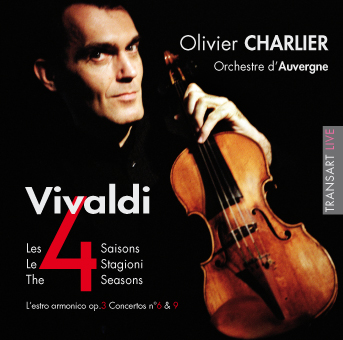 "Olivier Charlier plays Vivaldi ""4 Seasons"""
