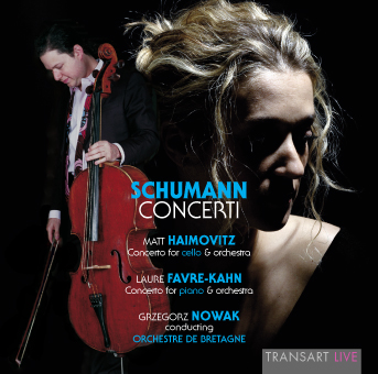 Grzegorz Nowak plays Schumann with Matt Haimovitz and Laure Favre-Kahn