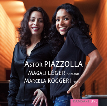 Marcela Roggeri and Magali Léger play Piazzolla